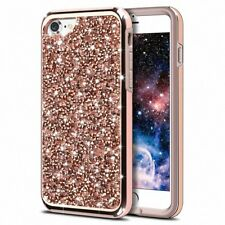 Luxury Diamond Bling Glitter Slim Protective Case Cover For iPhone X 8 7 6s Plus