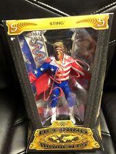 Autographed Sting Defining Moment Action figure WWE WWF NWA WCW WrestleMania