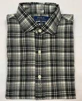 NEW Men Polo Ralph Lauren Button Down Shirt Slim Fit Madras Plaids M L XL XXL