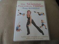 """DVD """"UNE SEMAINE POUR ETRE EN FORME avec Nancy MARMORAT"""" fitness"""