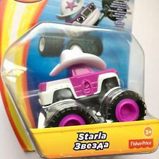 Blaze The Monster Machines STARLA Fisher-Price Die-Cast Metal Race Car Toy NEW