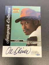 Al Oliver Sports Illustrated By Fleer 1999 Greats Of The Game Autograph Auto