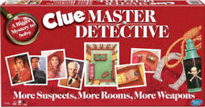 Brand New Clue Master Detective Board Game Winning Moves Complete Excellent