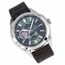 Stainless Steel Band Men's Luxury Wristwatches with Skeleton