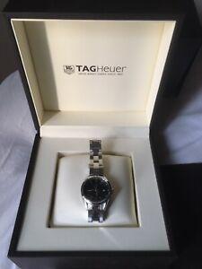 Tag Heuer Carrera WV1414.BA0793 Stainless Steel 27mm Date Quartz Ladies Watch.