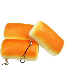 2016 Jumbo Squishy Bread Soft Buns Scented Phone Strap Charms Slow Rising ATUJ