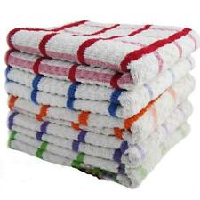 Pack of  6x 12x  100% Egyptian Cotton Super Jumbo Terry Tea Towels Kitchen Dish