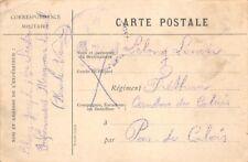 Correspondance militaire - Lettre de guerre 14-18 (Pas de Calais Fréthun)