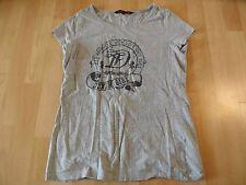 TOM TAILOR schönes Shirt grau m. Druck Gr. XL  TOP LC1215