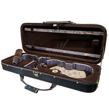SKY 16.5 Viola Oblong Case Sturdy Foam Construction with Hygrometers Khaki/Khaki