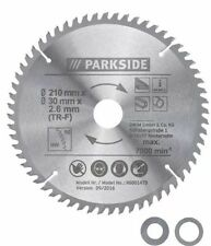 Parkside Circular Saw Blade 210mm( 60-tooth blade(TR-F))