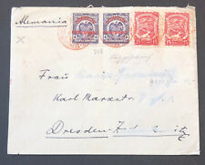 Colombia Cover C28 x 2 1925 To Germany yd 200