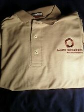 Lucent Technologies Men's Large One-Of-A-Kind Polo Shirt New Salesman Sample