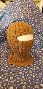 Handmade brown Color Balaclava Ski Mask