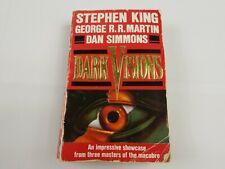 Dark Visions by Stephen King, George R.R. Martin, & Dan Simmons Paperback Horror