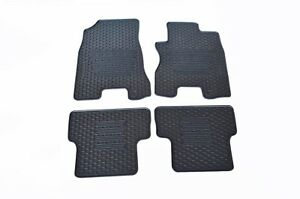 Rugged Rubber Floor Mats Tailored Heavy Duty for Nissan X-Trail T31 08-13