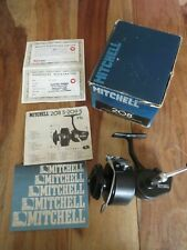 A RARE Vintage Mitchell 208 fishing reel in the original box & new condition