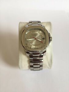 Burberry Mechanical Automatic Stainless Steel Men's Watch Excellent Condition