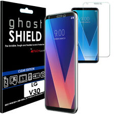 1x TECHGEAR (TPU) Clear FULL COVERAGE Screen Protector Cover for LG V30 (H930)