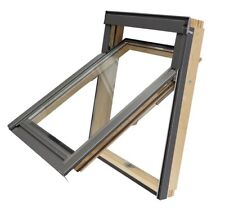 RoofLITE 3/4 Hung Roof Window MOEVX M8A 78x140cm & Tile Flashing