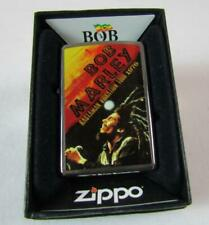 Zippo Bob Marley 1976 Tour Lighter #24992 NIB Z148