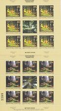 EUROPA CEPT 2011 WALD FOREST - BOSNIEN SERBISCHE REPUBLIK 525-26 A KLEINBOGEN **