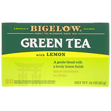 Bigelow, Green Tea with Lemon, 20 Tea Bags, 0.91 oz (25 g)