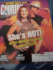 Jo Dee Messina Autographed Magazine Cover