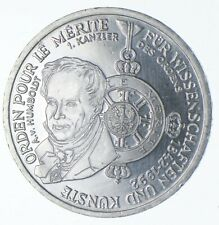 SILVER - WORLD Coin - 1992 Germany 10 Mark - World Silver Coin *068