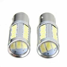 2PCS Power 6500K LED White Brake Light P21/5W BAY15D 1157 S25 Brightness For Car