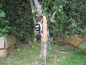 woodpecker whirly whirligig windvane