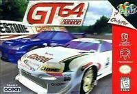 GT64 Championship Edition Nintendo 64 N64 Game Used
