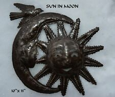 "HAITIAN METAL ART...... ""SUN IN MOON""....Handmade in Haiti"
