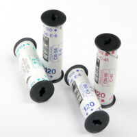 4x 120 220 Assorted Empty Roll Film Spool With Backing Paper Hand-Roll Re-Roll