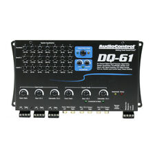 AUDIOCONTROL DQ61 DIGITAL SIGNAL SOUND PROCESSOR w/ EQ & TIME ALIGNMENT DQ-61