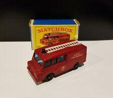 Matchbox Lesney #57 Land Rover Fire truck, NEW