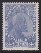 Liechtenstein 1916 - Mi. 3yb Fürst Johann II postfrisch mit Fotobefund