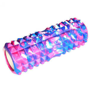 Camouflage Yoga Column Foam Roller Hollow Design Muscle Relaxation Massage Tool