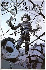IDW EDWARD SCISSORHANDS #3 Cover A Variant Comic VF/NM Johnny Depp movie
