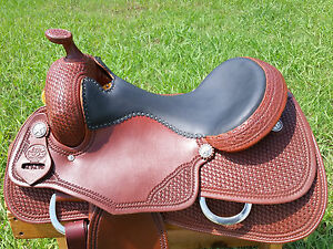 """16"""" Spur Saddlery Reining Cowhorse Saddle (Made in Texas) Reiner"""