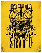 Sicario Limited Edition Steelbook Blu Ray Fast Post 5055761907056