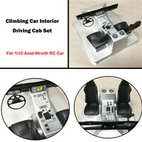 1 Set Climbing Car Interior Driving Cab For 1/10 Axial Wraith RC Car Spare Parts