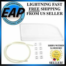 For 2000-2004 Volvo S40 V40 Front Right Headlight Lens with Seals & Clips
