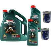 7L Olio Motore Castrol Magnatec Diesel 5W-40 DPF 2xMotor Doctor