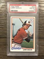 1978 Topps Larry Harlow Rookie PSA 10 RC #543