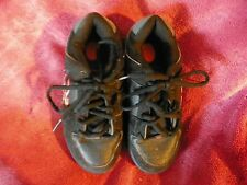 HEELY'S STYLE # 7168 LOW LACE UP SKATE SHOES BLACK FLAMES YOUTH BOYS GIRLS SZ 4