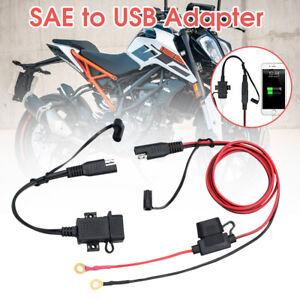 Motorbike Motorcycle Fast Charging USB Charger Adapter Socket Waterproof 12V/24V