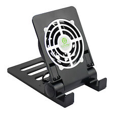 Phone Tablet Heat Sink Mini Cooling Fan Cooler Stand Holder USB Rechargeable