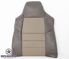 2003 2004 Ford Excursion EDDIE BAUER Lifted -Driver Lean Back Leather Seat Cover