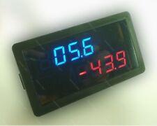 DC 20V +/- 100A Digital Amp Volt  METER Charge Discharge Solar Batterie monitor